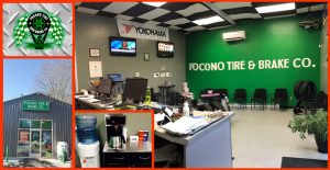 Pocono Tire Brake Co interior & exterior photos