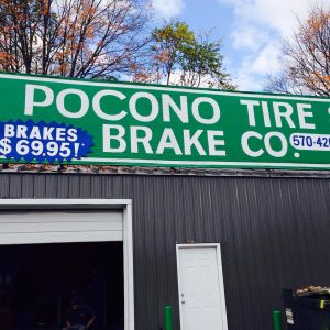 Pocono Tire Brake Co