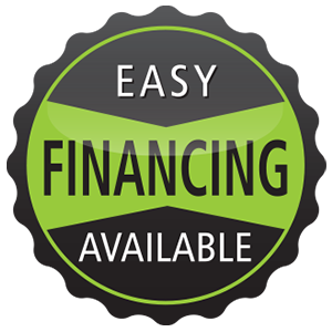 Easy Financing Available