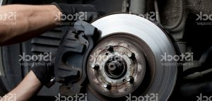 working on brakes