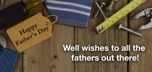 Fathers Day announcement